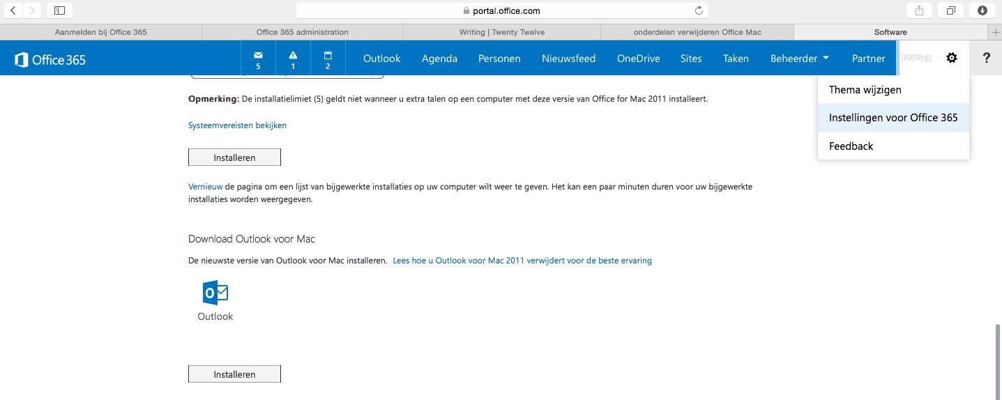Nieuwe versie: Outlook for MAC - Linternet